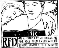 RFD Magazine Two Men Logo